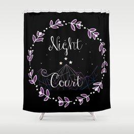 Starry Night Court Shower Curtain