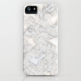 Paper Marble iPhone Case