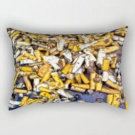 Ashtray Art Rectangular Pillow