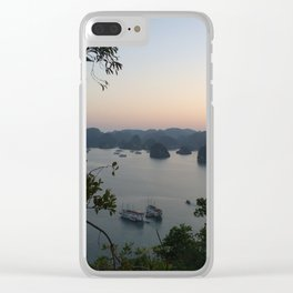 view of halong bay Clear iPhone Case