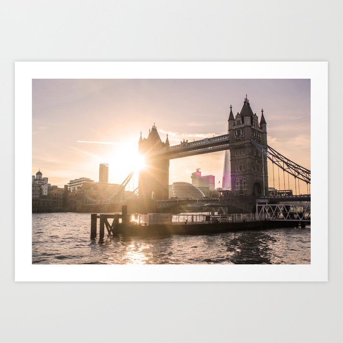 ArtWork Photo London Bright 2019 UK Art Print