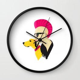 Cool Punk Wall Clock