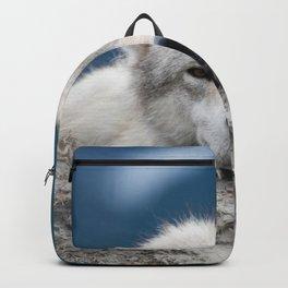 Sleepy Wolf Backpack