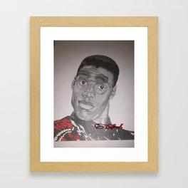 Dwayne Wayne Framed Art Print