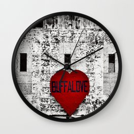 Buffalo Urban movement Wall Clock