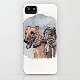 Deb's Dogs iPhone Case
