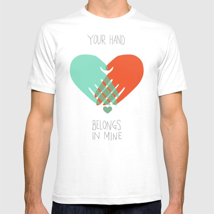 I wanna hold your hand T-shirt