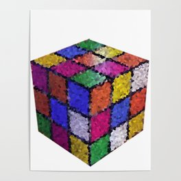 The color cube Poster