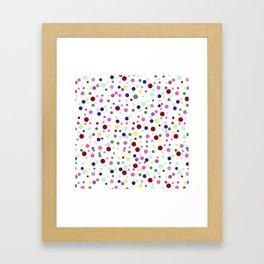 Candy Pop Framed Art Print