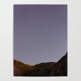 Untouched purple sky Poster