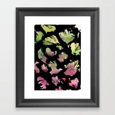 blossom note 1 Framed Art Print
