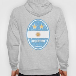 World Cup Football 5/8 - Argentina (Distressed) Hoody