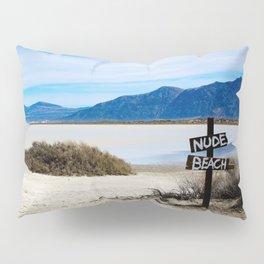 Nude Beach Pillow Sham