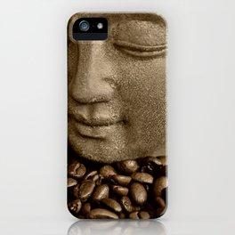 buddha coffee 2 iPhone Case