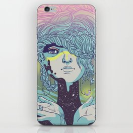 Braided Reality Check iPhone Skin