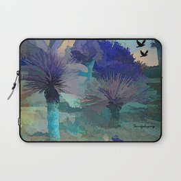 TheDesert blue -By Sherri Of Palm Springs Laptop Sleeve