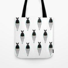 Bulldog / Je t'aime Tote Bag