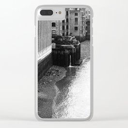 London 1 Clear iPhone Case