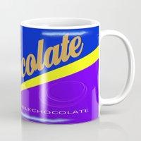 chocolate Mugs featuring Chocolate by Nicklas Gustafsson