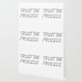 Trust The Process Workout Motivational Design Wallpaper