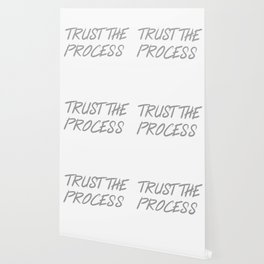Trust The Process Workout Motivational Design Wallpaper