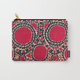 Tashkent Uzbekistan Central Asian Suzani Embroidery Print Carry-All Pouch