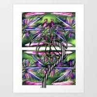 Tropical Chic Art Print