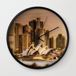 Sydney Cityscape Wall Clock