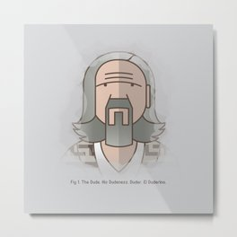 SOMETIMES THERE'S A MAN… Metal Print