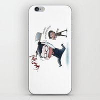 jojo iPhone & iPod Skins featuring JOJO NOOOOO by Yiji