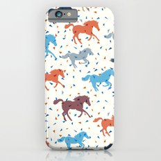 Horse Print iPhone 6s Slim Case