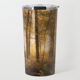 In #autumn, through the #forest Travel Mug