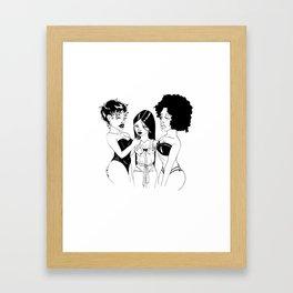 WDFWU Framed Art Print