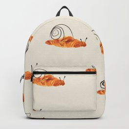 croissant snail Backpack