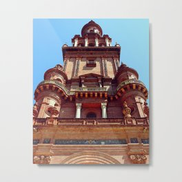 North Tower face Metal Print