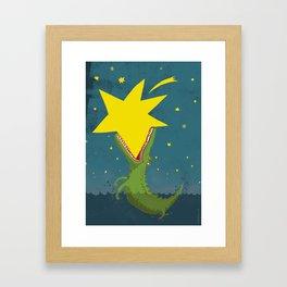 Crocostar Framed Art Print