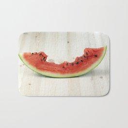 bite watermelon Bath Mat