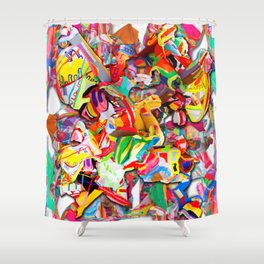 #connect collage 2016 Shower Curtain