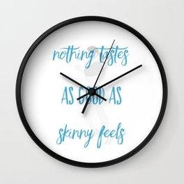 Skinny Wall Clock