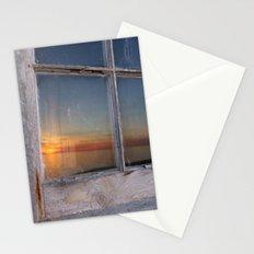 Window Sunset  Stationery Cards