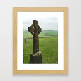 Celtic Cross - Rock of Cashel, Tipperary, Ireland Framed Art Print