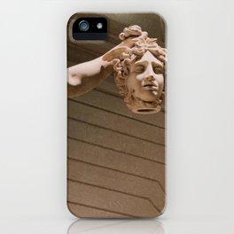Medusa Sculpture Head iPhone Case