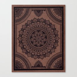 Mandala on Masonite I Canvas Print