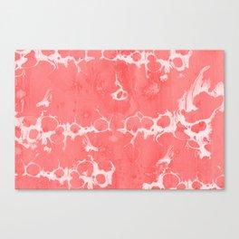 Baesic Wet Paint Pink Canvas Print