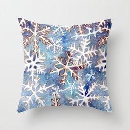 Snow Day 10 Throw Pillow