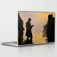 college Laptop & iPad Skins featuring Trinity College Sunset by Biff Rendar