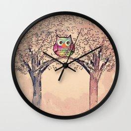 owl-245 Wall Clock