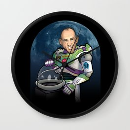 Buzz Aldrin of Star Command Wall Clock