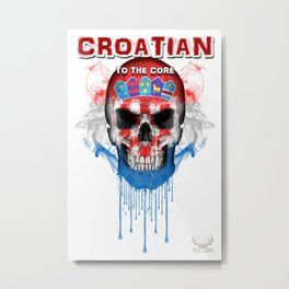 To The Core Collection: Croatia Metal Print