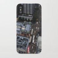 sydney iPhone & iPod Cases featuring Sydney  by Cynthia del Rio